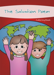 The Salvation Poem Coloring Book