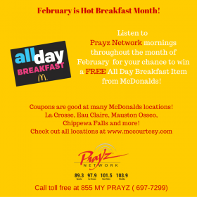 February is Hot Breakfast Month!